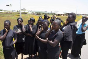 Soldiers, OPSH drain pond in Jos in search of body of missing General, as women protest