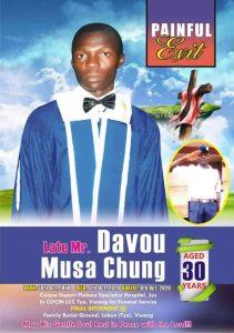 A Student of Plateau State Polytechnic killed along Kuru-Jenta road of Plateau State.