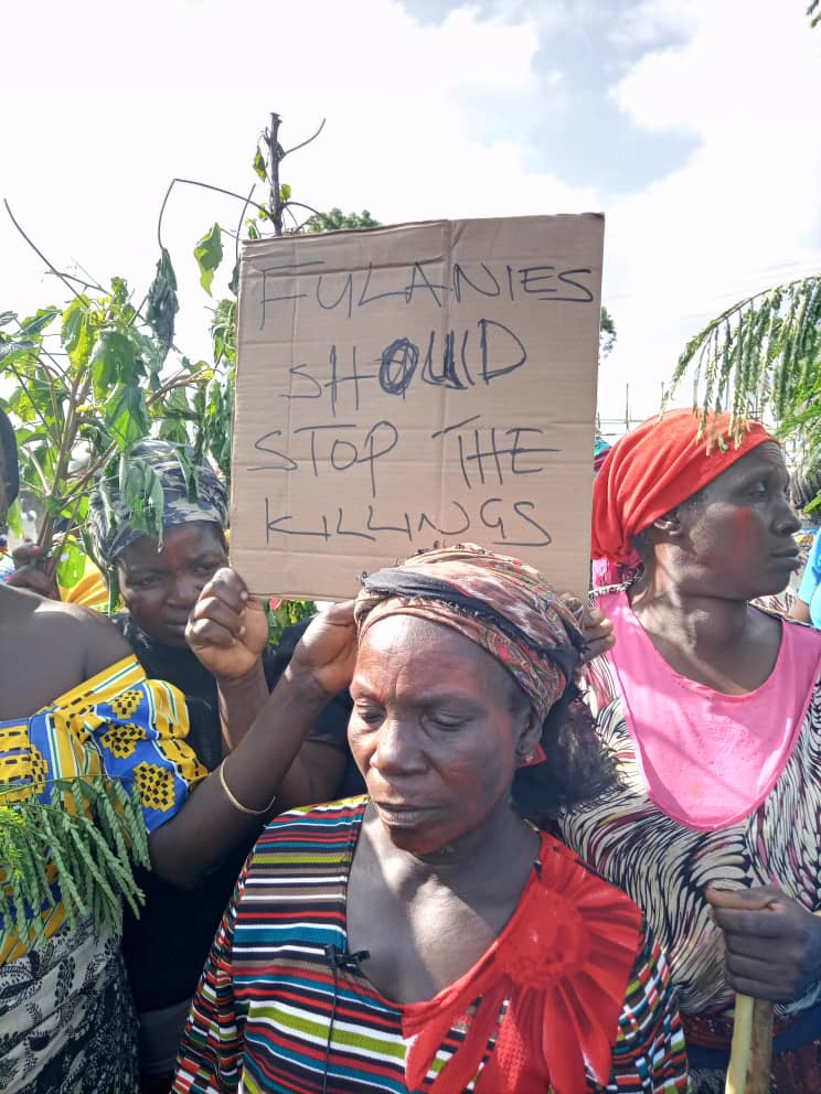 MASS PROTEST ROCKED PLATEAU STATE